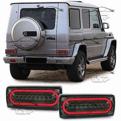 REAR TAIL LED BAR LIGHT SMOKE FOR MERCEDES CLASS G W463 89-16 LAMP NEW