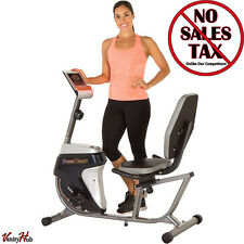 Recumbent Exercise Bike Stationary Bicycle Workout Trainer Home Gym Equipment