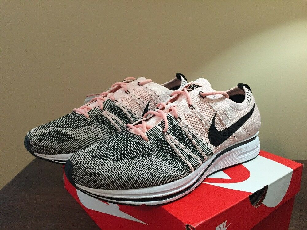 f4625c28821a2 ... Nike Flyknit Trainer Sunset Tint Size 10.5 10.5 10.5 AH8396600 Sunset  Pink Black White Ye f63f37 ...