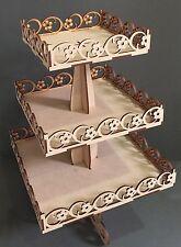 Y98 CAKE Birthday Cupcake Wedding Post Box MDF Table Display Stand Sweet Stand