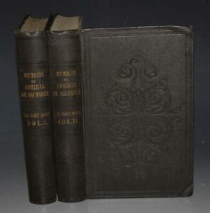 John-Ross-Memoirs-and-Correspondence-of-Admiral-Lord-De-Saumarez-2-Vols-1838-1st