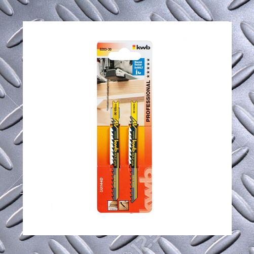 Stichsägeblätter HCS  2-er set für Holz und Spannplatten