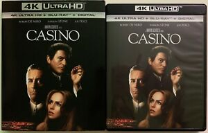 CASINO-4K-ULTRA-HD-BLU-RAY-2-DISC-SET-SLIPCOVER-SLEEVE-FREE-WORLD-WIDE-SHIPPIN