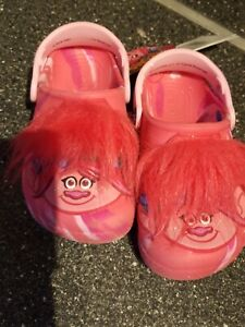 Crocs Kids Boys /& Girls Trolls Character Clog