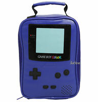 Nintendo Game Boy Color Purple School Lunch Bag Box Insulated Cooler Bag