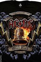 Ac Dc-hells Bells Shield-angus-tshirt M-l-xl-xxl