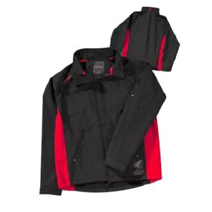 Honda Casual Jacket One Industries Linden Windbreaker Black Jacket