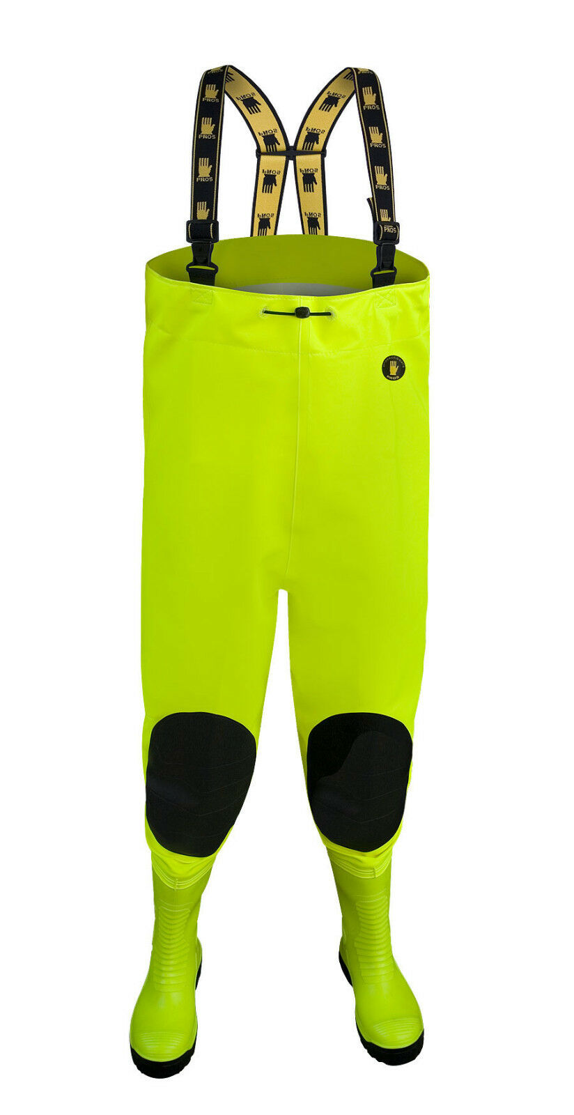 ANTI -  CUT  MAX S5 FLUO  Chest Waders STEEL MIDSOLE FLUORESCENT orange Yellow  shop online today