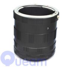 Macro Extension Tube Lens Ring For Canon EF EOS 1100D 550D 600D 1000D 500D 50D
