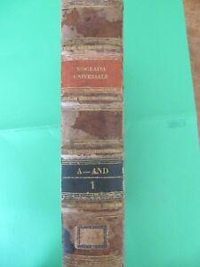 Libri-antichi-BIOGRAFIA-UNIVERSALE-ANTICA-E-MODERNA-1834
