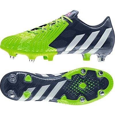 Adidas Predator Instinct SG//Stollenschuhe//Fußballschuhe//rot//blau//weiss//B35460
