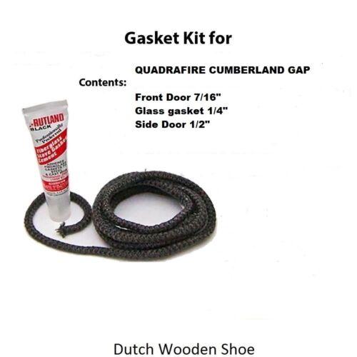 Gasket Kit rope Quadrafire Cumberland Gap Quadra Fire Cement 844-6730 844-1470