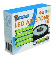 SuperFish LED Air Stone 10 (08010150)  Luftstein und Teich-LED