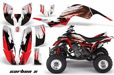 AMR Racing Yamaha Raptor660 Graphic Kit Wrap Quad Decals ATV 2001-2005 CRBNX RED