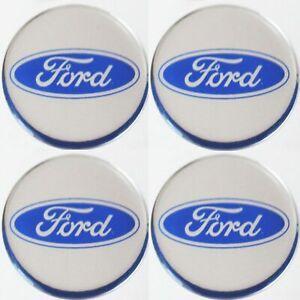 Ford-Emblem-BLAU-Felgen-Aufkleber-Logo-Nabendeckel-Nabenkappen-Embleme-4x56mm