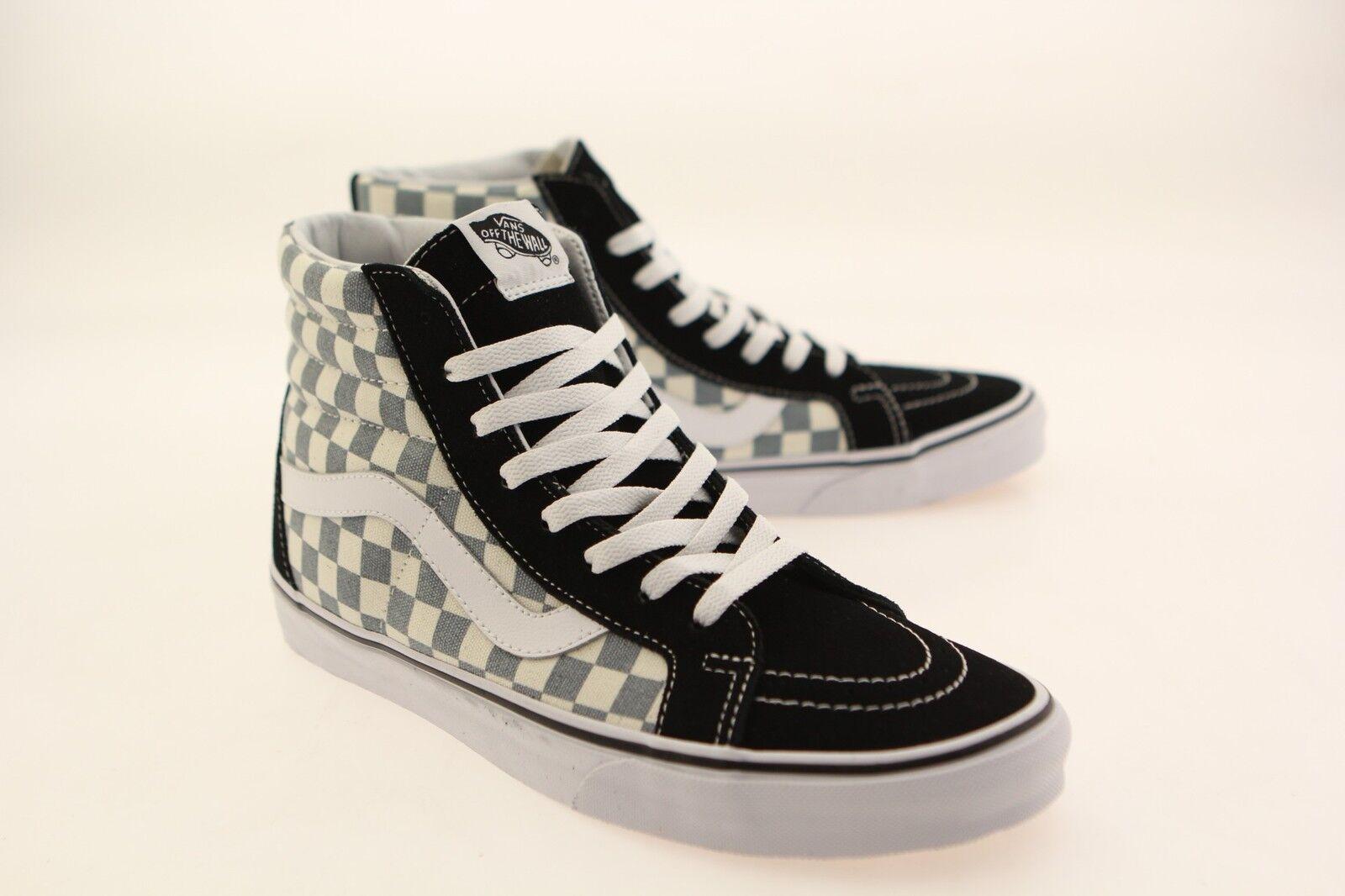 Vans Men Sk8-Hi Reissue - Checkerboard black citadel VN03CAIB7