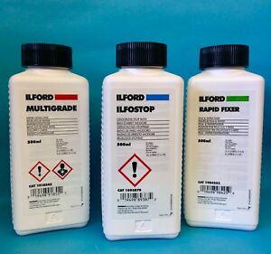 Ilford-Multigrade-Developer-Ilfostop-Rapid-Fixer-500ml-Black-amp-White-Kit