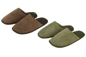 Mens-Plain-Mule-Slipper-with-Soft-Lining