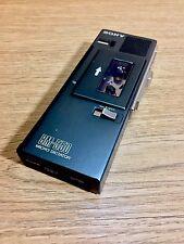 Sony BM-550 Micro dictador Dictáfono Grabador Reproductor De Cassette Vintage