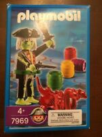 Playmobil 7969 Ghost Pirate W/glow In The Dark Figure - Game Included