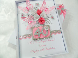 Handmade-Personalised-Birthday-Card-16-18-21-30-40-50-60-Any-Age-Gift-Box