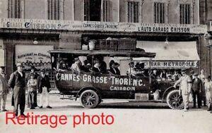 Retirage-Photo-Copie-CANNES-GRASSE-THORENC-AUTOBUS-CAISSON-au-depart-auto-garage