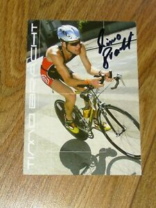 Autogrammkarte, - Sport, - Triathlon,- Timo Bracht