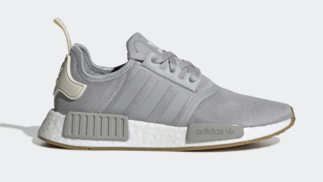 the best attitude 77a0d d2f90 Adidas NMD R1 W # G26088 Grey Gum Bottom White Women SZ 6 - 11