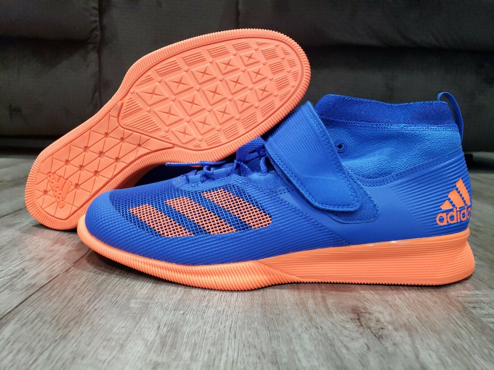 Mens Adidas Crazy Power RK Weightlifting Athletic Sports shoes BB6360 Sz 8.5