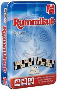 Jumbo-Spiele-Original-Rummikub-Kompakt-in-Metalldose-Brettspiel-Partyspiel-NEU