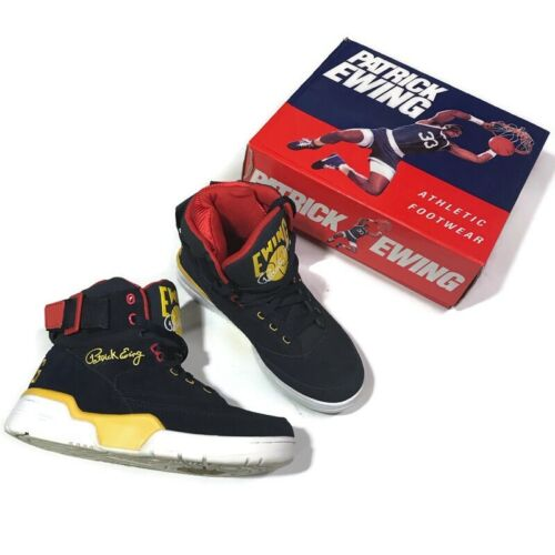 Patrick Ewing 33 Hi Snow Beach Shoes Bijou Blue Mi