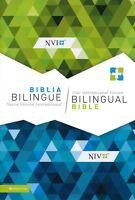 Spanish English Bilingual Bible, Nvi/niv, Black Bonded Leather Updated Editi F/s