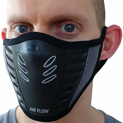 Half Face Mask Anti Dust Pollution Filter Cycling Motorbike Motorcycle Bicycle