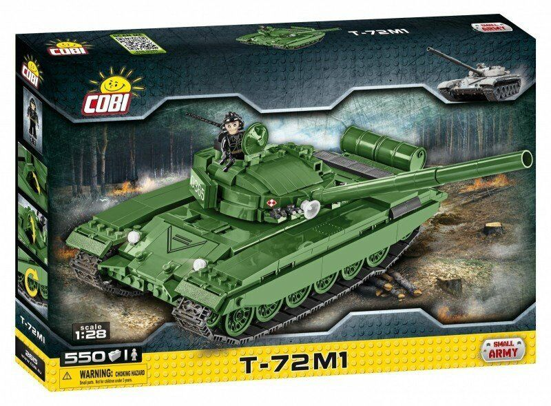 Cobi 2615 Small Army T-72 M1 Kampfpanzer NEU OVP