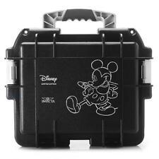 Invicta Disney 3-Slot Collector Dive Case Watch Box Mickey ImpactResistant Black