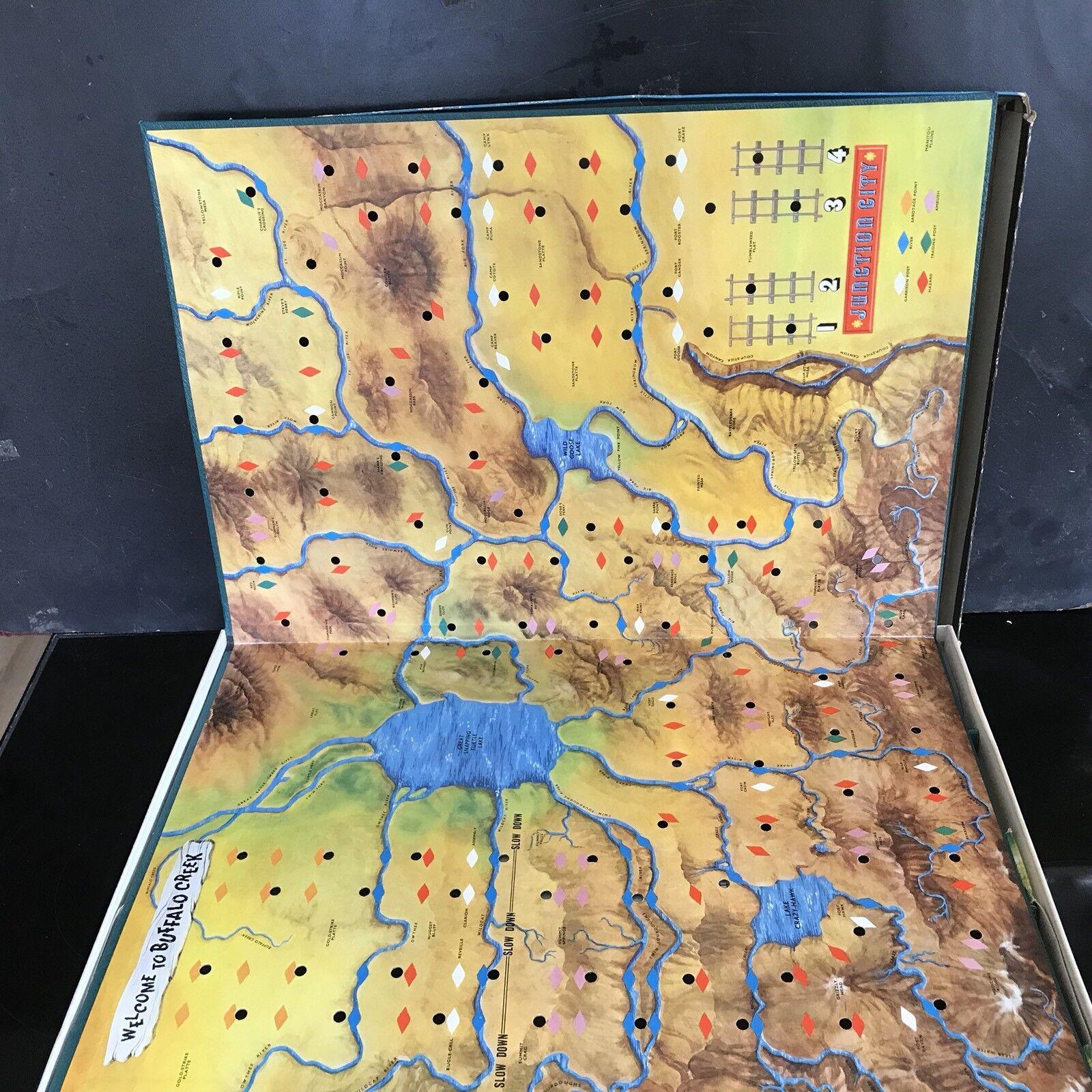 Vintage Waddingtons Board Board Board Game Le cheminot 890bf3