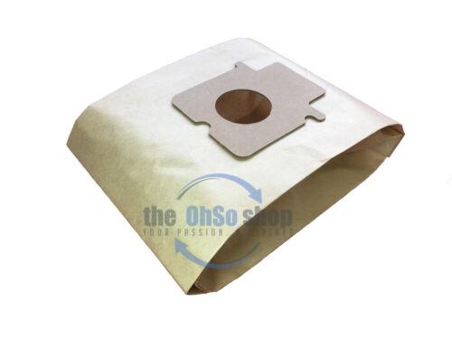 MC-E86 5 x Sacchetti Aspirapolvere Panasonic Tipo C-20E MC-E852 MC-E861 MC-E860