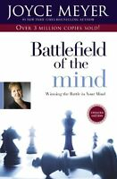Battlefield Of The Mind: Winning The Battle In Your Mind By Joyce Meyer, (paperb on sale
