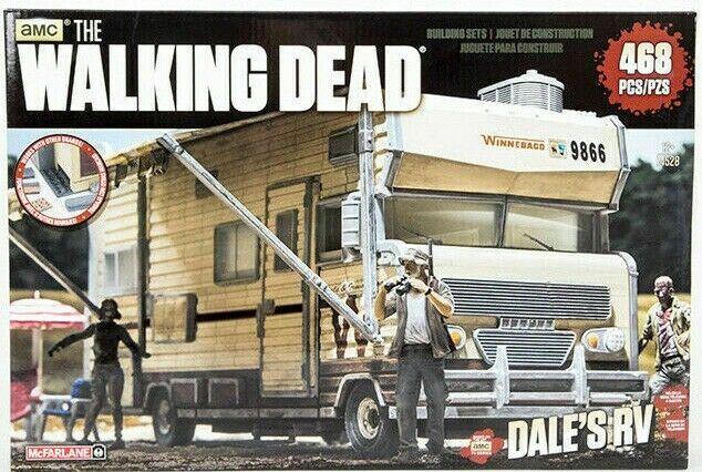 The Walre Dead DALE'S RV Construction costruzione SET McFarlane 468 pcs nuovo seal