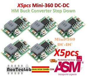 10Pc Mini 360 Synchronous Rectification DC to DC Buck Converter Step Down Module