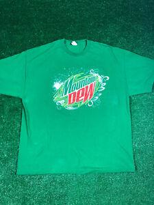 Mountain Dew Tee Shirt Green