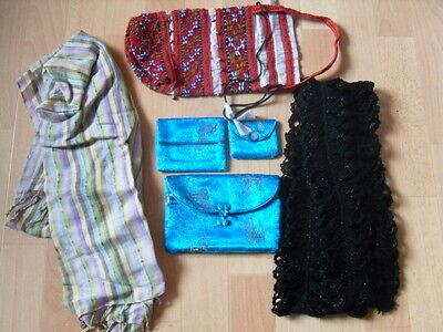 2 Schalen + 4 kleine Taschen