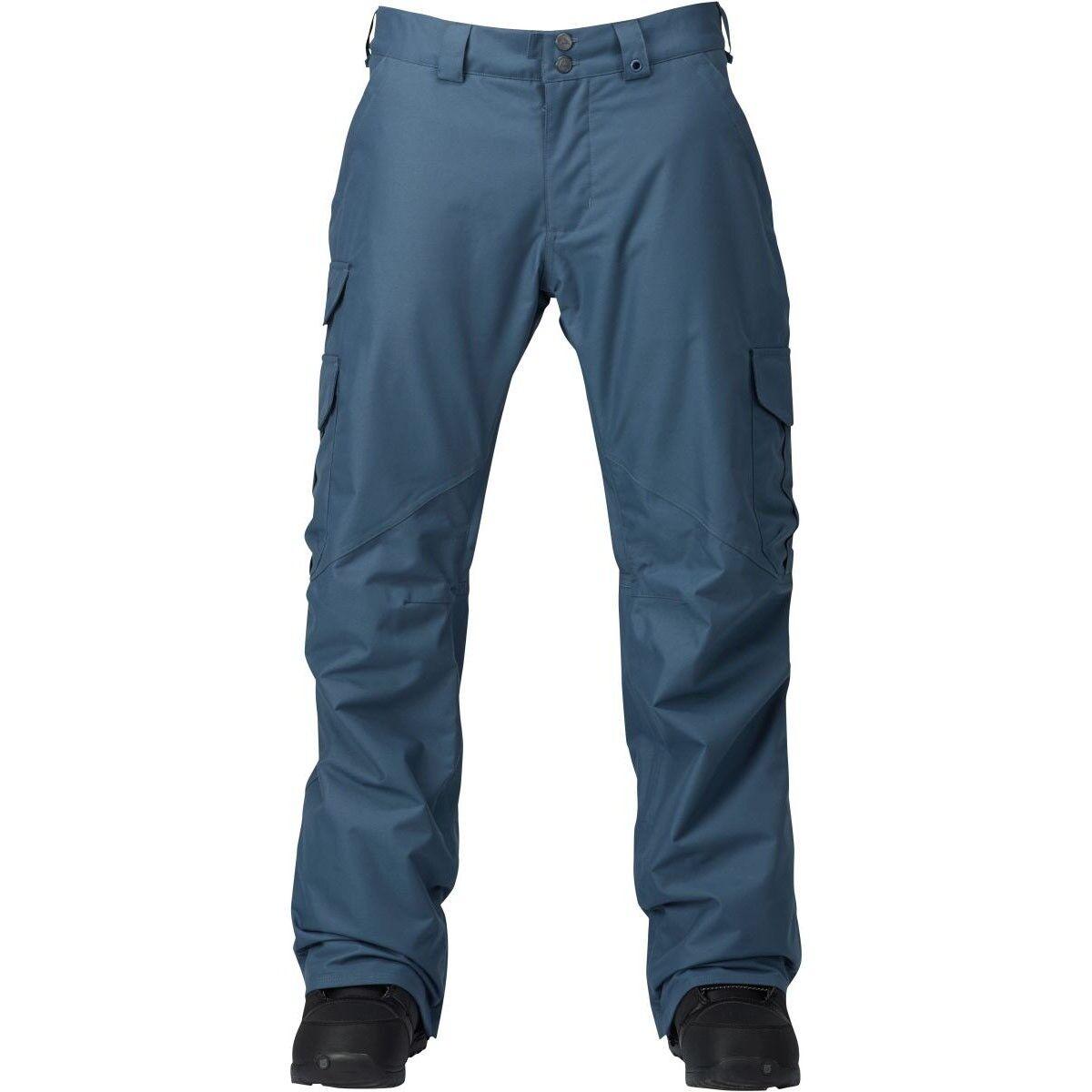 Burton Cargo Hose Mid Snowboardhose blau