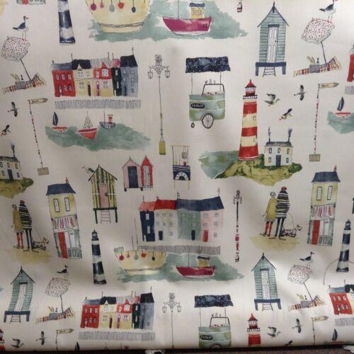 Seaside Stone Prestigious Textiles Cotton 140cm wide Curtain//Craft Fabric