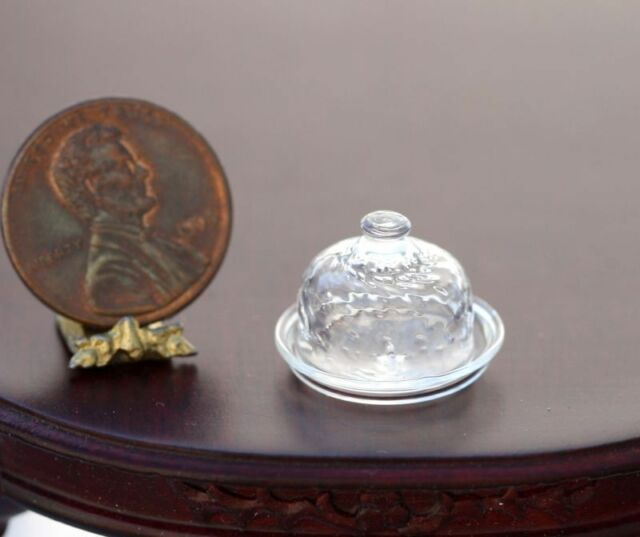 """Dollhouse Miniature Artisan Clear /"""" Wine Glass /"""" by Philip  Grenyer"""