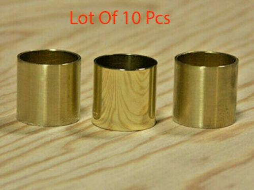 Vintage Brass Collars For cane Walking Stick Polished Collars Lot of 10 Pcs gift