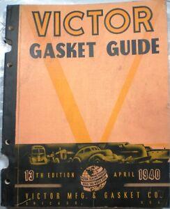 VICTOR-GASKET-GUIDE-ASBESTOS-Dana-Corp-13th-Edit-1940