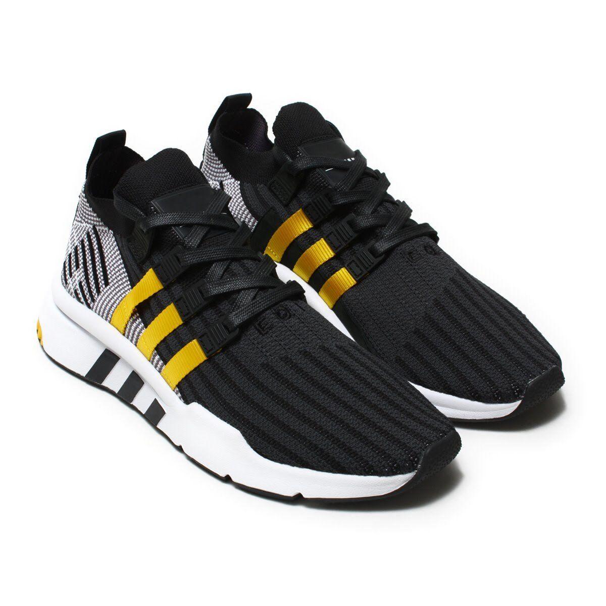 Uomo Adidas EQT Support Mid Mid Mid ADV CQ2999 Primeknit nero giallo SZ 7-13 DS Boost 44f981