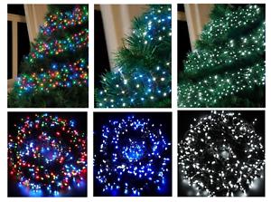 480LED CLUSTER lumières Super Bright en //// Outdoor melaad Noël Lumières Dans 4 Couleurs