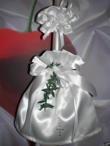 Taufe Kommunion Kerzentuch Kerzenrock mit Tropfschutz!